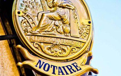 Notaire et étude notariale